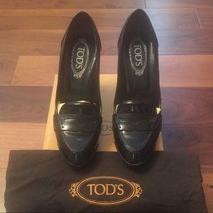 💯 Authentic Tod's Pumps, Size 38